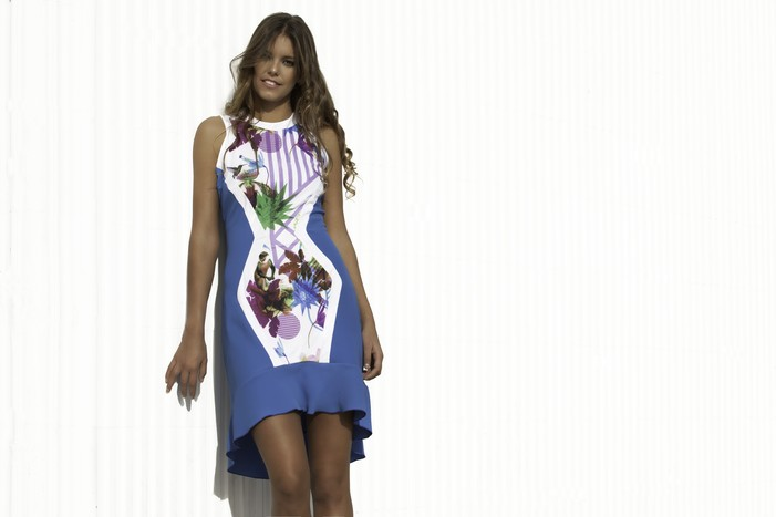 VESTIDO BIRDS OF PARADISE