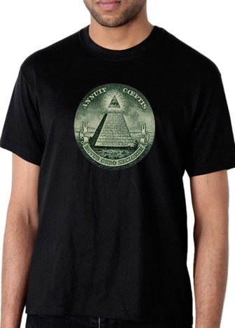 PYRAMID DOLLAR T-SHIRT BLACK