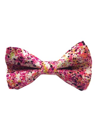 PINK SPLASHES BOW-TIE