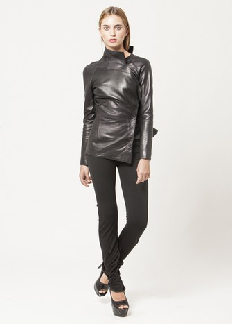 CALIPSO LEATHER JACKET