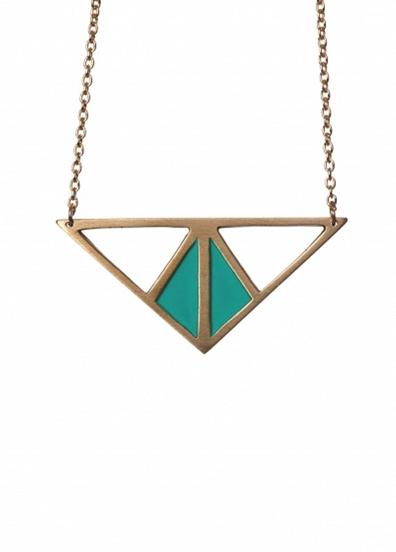 TURQUOISE GEORGIA NECKLACE