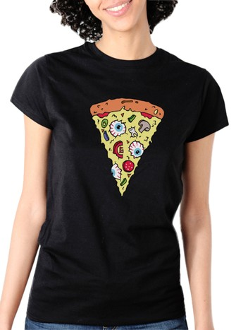 PIZZA SPECIAL T-SHIRT BLACK