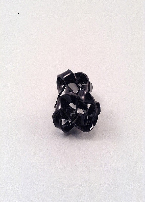 MELT BLACK RING