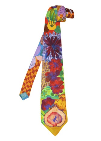 HAND-PAINTED TIE #5
