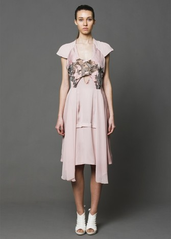 GODETS PINK DRESS