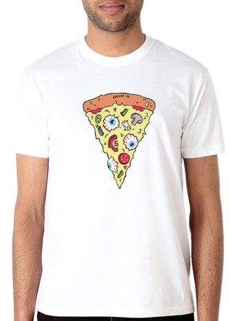 PIZZA SPECIAL T-SHIRT-WHITE