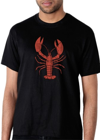 LOBSTER T-SHIRT BLACK