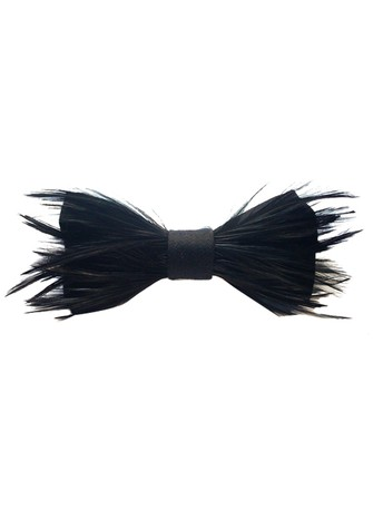 FEATHER BOW-TIE