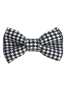 HOUNDSTOOTH BOW-TIE
