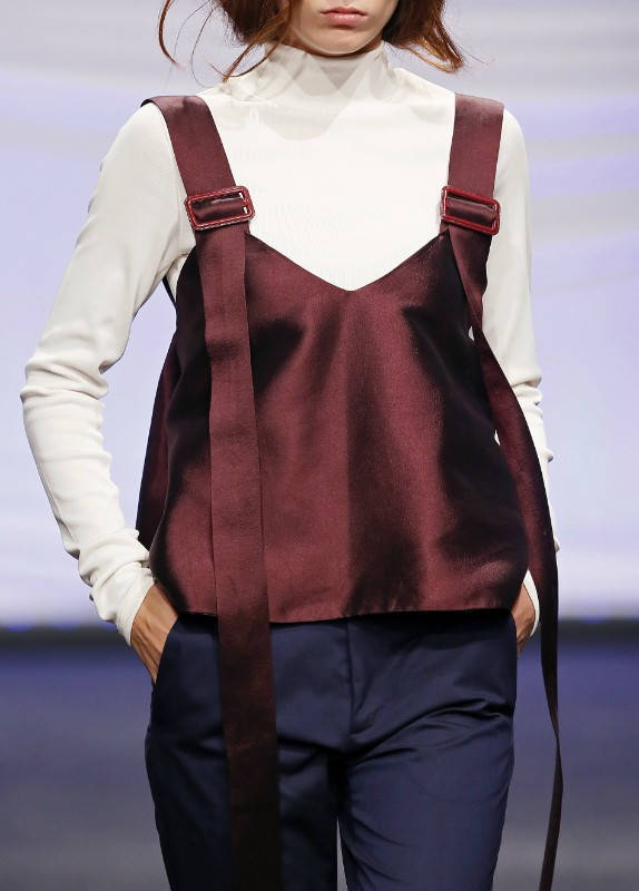 WIDE SUSPENDERS TOP