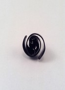 BLACK SNAIL RING
