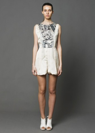 SHORT PLAYSUIT