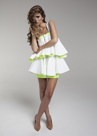 WHITE CAYI DRESS