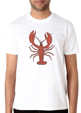 LOBSTER T-SHIRT WHITE