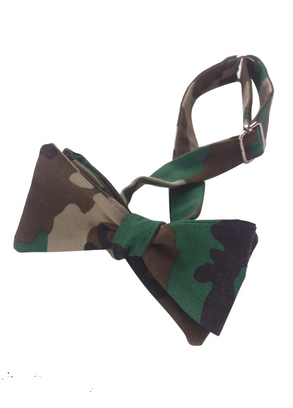 CAMOUFLAGE SELF-TIE
