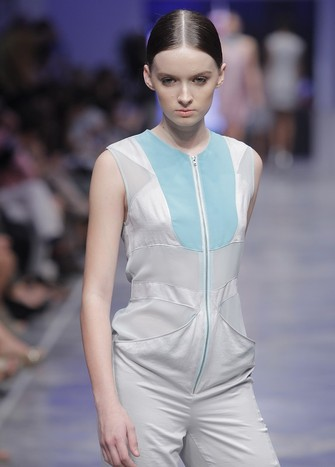 ORIGAMI CHEST JUMPSUIT